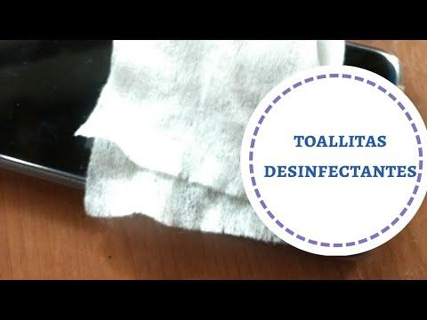 toallitas desinfectantes
