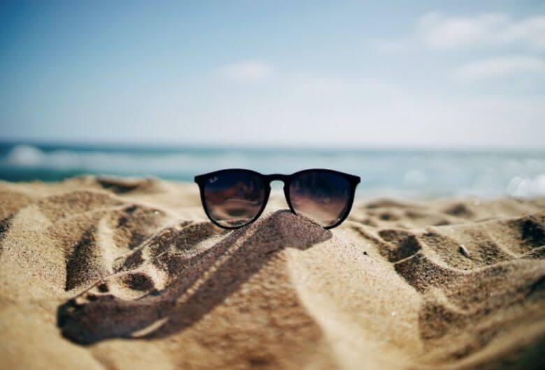zonnebril krassen trucje