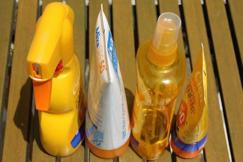 zonnebrandspray
