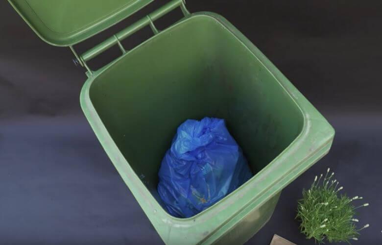 afvalcontainer schoonmaken