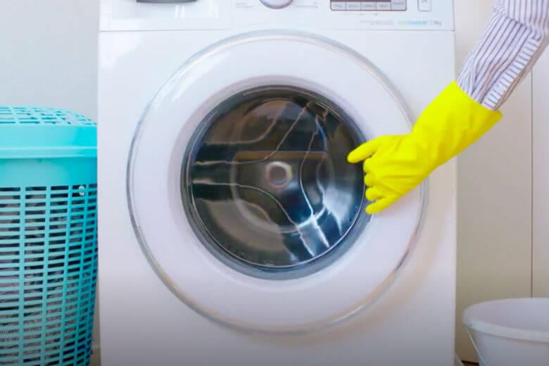 wasmachine schoon