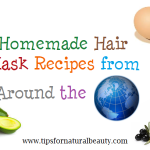 Homemade Hair Mask Recipes from Around the World