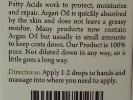 Swiss Botany Moroccan Argan Oil Review