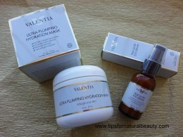 Valentia True Glow Eye Cream & Ultra Plumping Hydration Mask Review