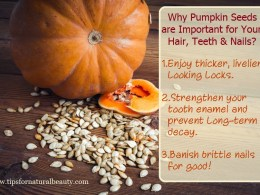 Why Pumpkin Seeds are Important For Your Hair, Teeth & Nails