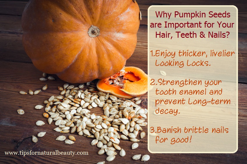 Pumpkin Seeds Benefits For Your Hair, Teeth & Nails