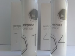 Ao Skincare Prepare Cleanser and serum