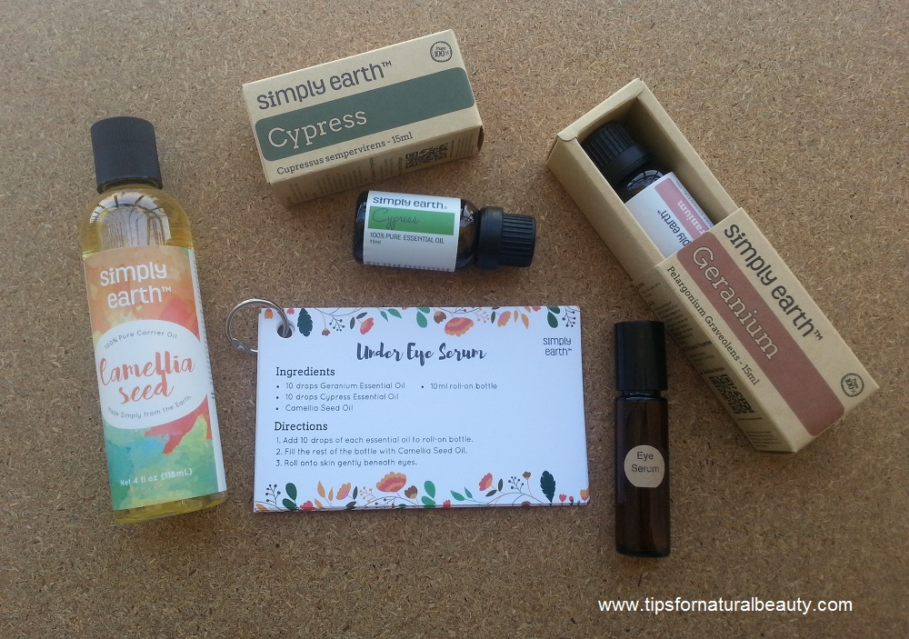 Simply Earth essential oils eye serum