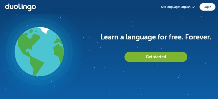 Free Online Learning Sites - Duolingo
