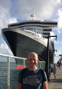 Queen Mary 2 St. Kitts