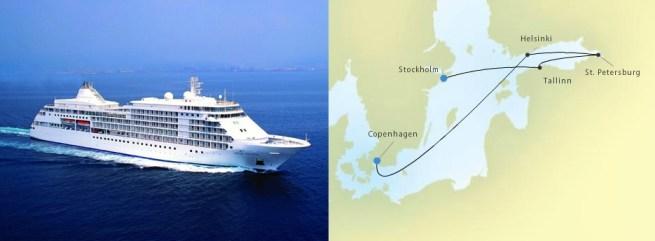 Silversea Cruises Baltic Cruise