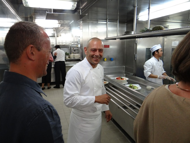 Executive Chef Ramon De Bernard Silversea Silver Whisper