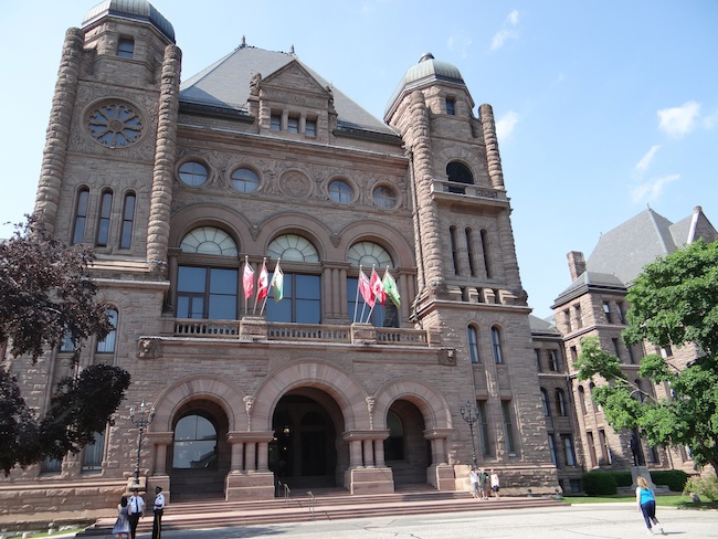 Legislative Building Toronto