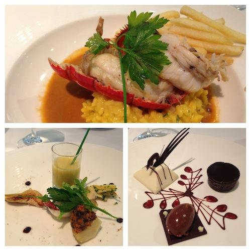 Silversea Silver Whisper Restaurant Lobster