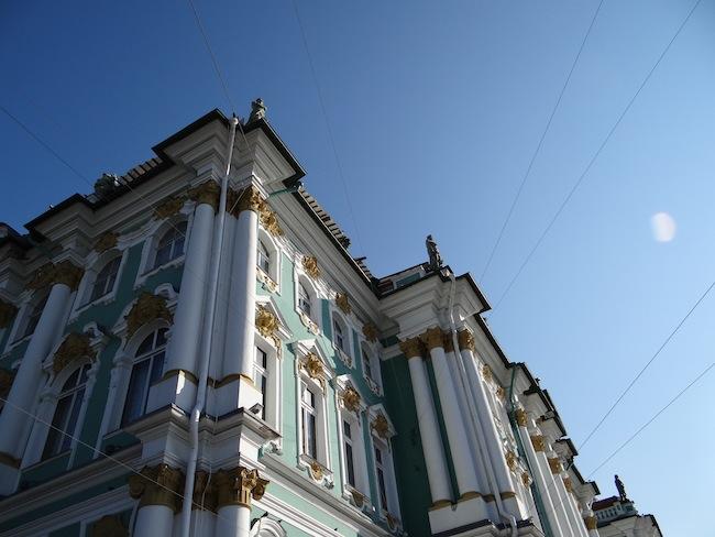Winter Palace Hermitage Museum St Petersburg Russia