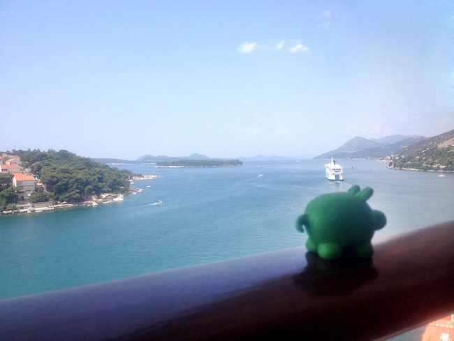 From the Celebrity Silhouette