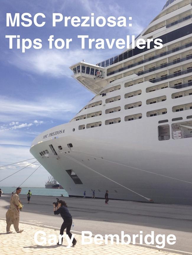MSC Cruises eBook Gary Bembridge