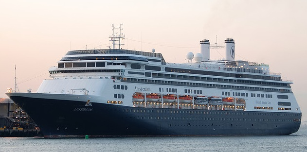 Holland America Amsterdam Cruise Ship by Andrew W Sieber http://www.flickr.com/photos/smartjunco/