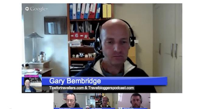 Gary Bembridge Tips for Travellers on Travel Coffee Break
