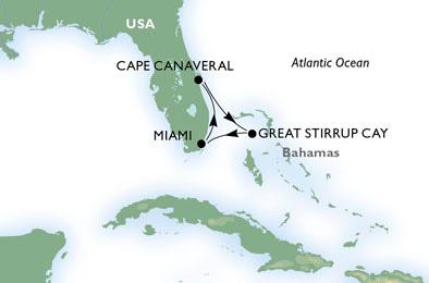 MSC Divina Inaugural Miami Cruise