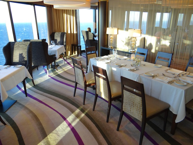 The Haven premium suites have their own restaurant