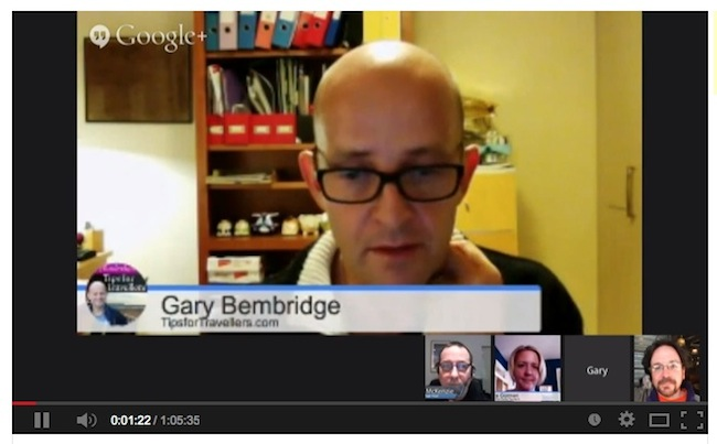 Gary Bembridge on Travel Coffee Break