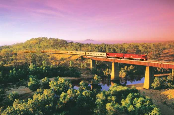 The Ghan Australia