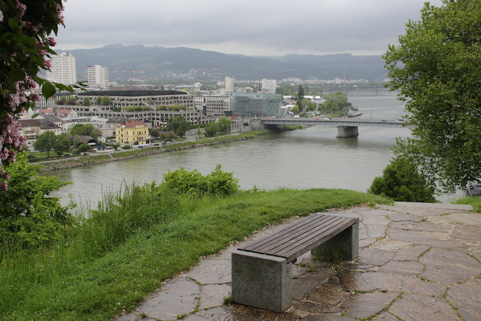 Linz in Austria on the Danube