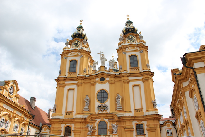 Melk Monastery Abbey in Baroque Style