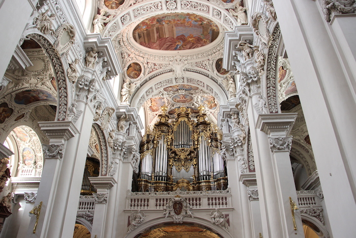 St Steven's Cathedral Church Organ Passau Germany