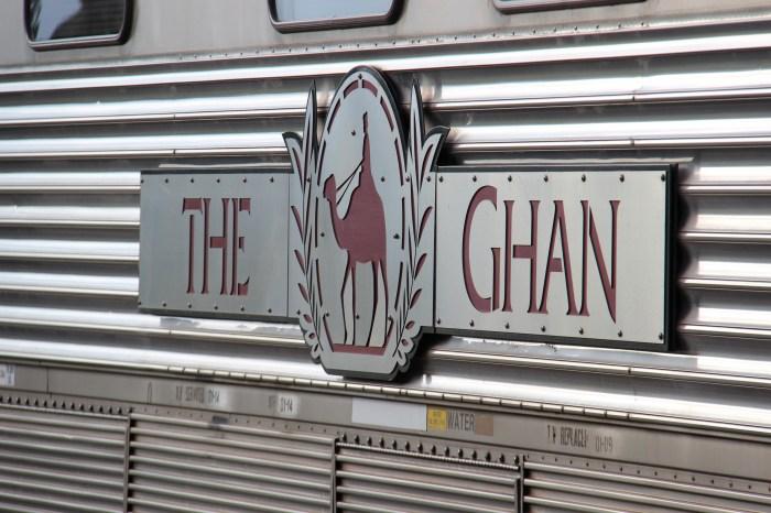 The Ghan Train Logo