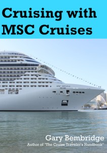 Cruising with MSC book