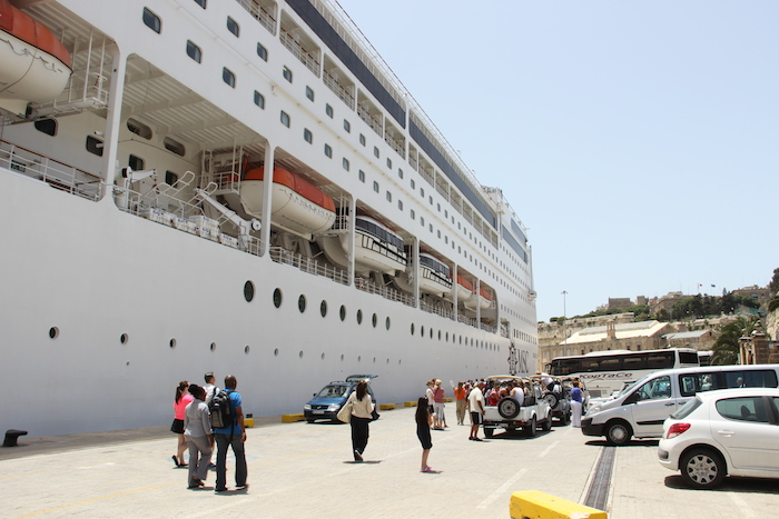 MSC Lirica in Valletta