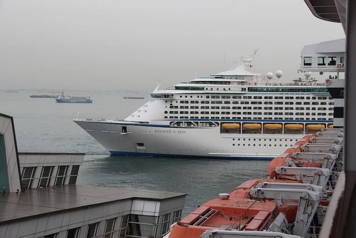 Voayager of the Seas in Singapore