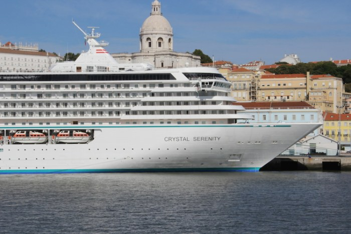 Crystal Cruises Crystal Serenity in Lisbon