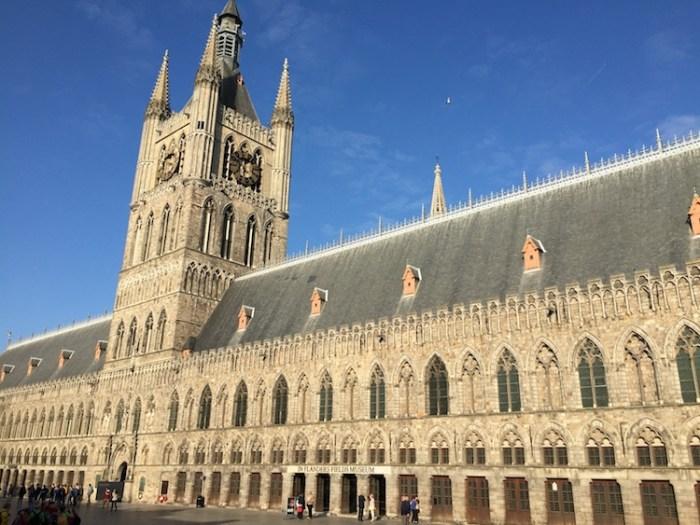 n Flanders Fields Museum and Bell Tower Ieper Belgium