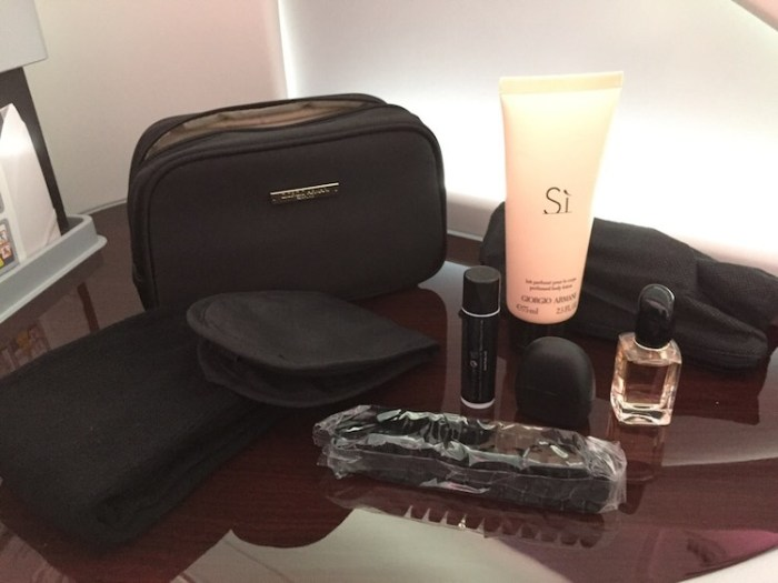 Qatar Airways A380 Business Class Amenity Kit for Women
