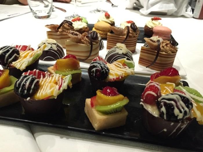 Qatar Airways Lounge London Heathrow Terminal Four Desserts