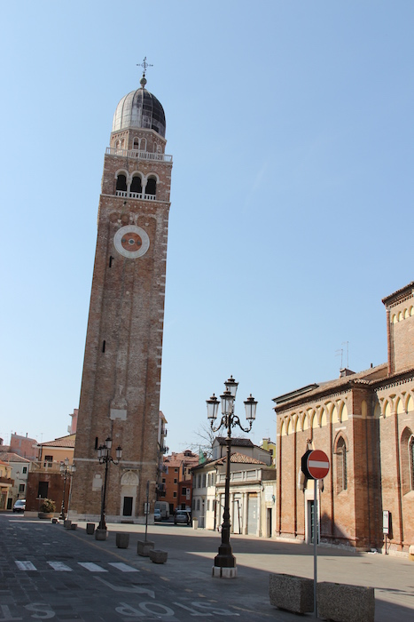Cathedral of Chioggia Bell Tower