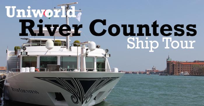 Uniworld River Countess Ship