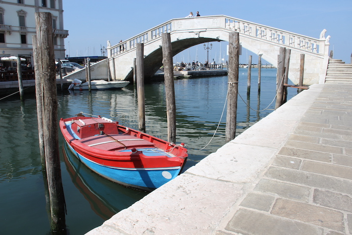 Venal Canal in Chioggia Italy
