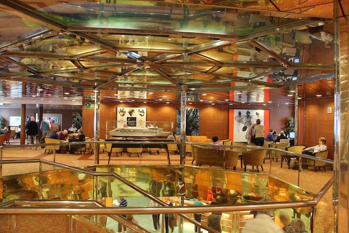 Fred Olsen Balmoral Cruise Ship Atrium