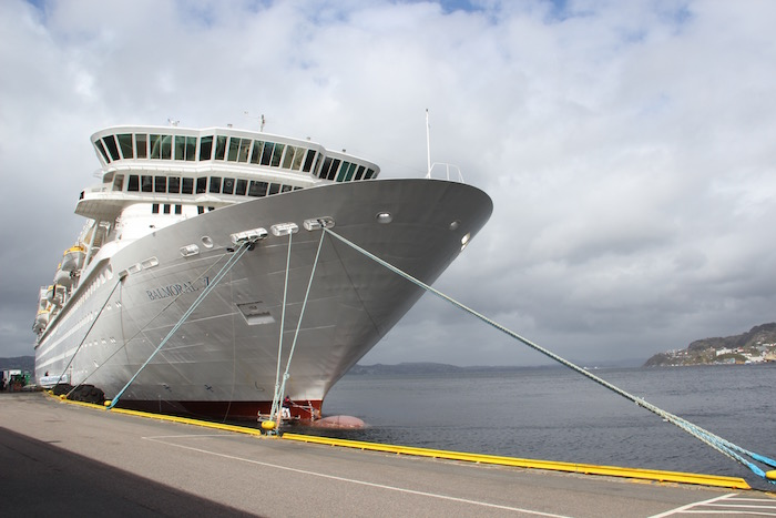 Fred Olsen Cruise Balmoral in Bergen