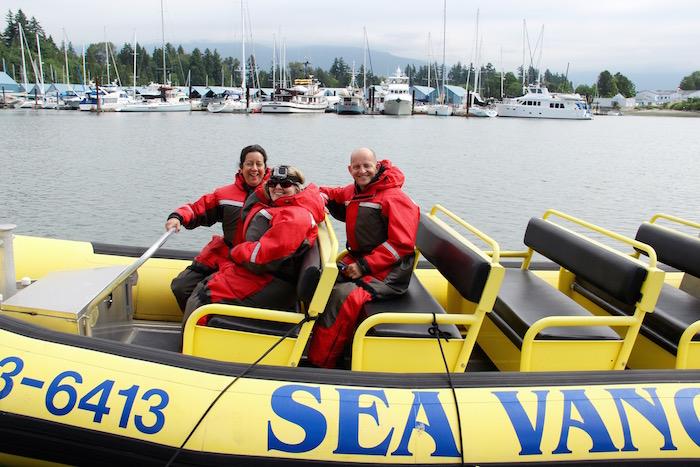 SeaVancouver Zodiac Tour
