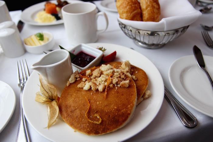 Breakfast Pancakes Rocky Mountaineer Train
