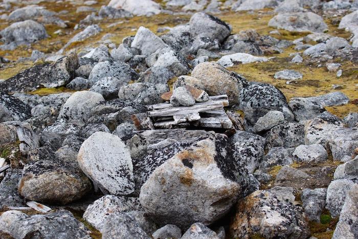 Dutch Whaler's Grave Ytre Norskoya Svalbard
