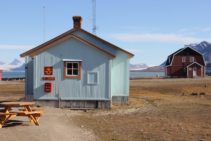 World's most northern Post Office in world on Ny Alesund Svalbard