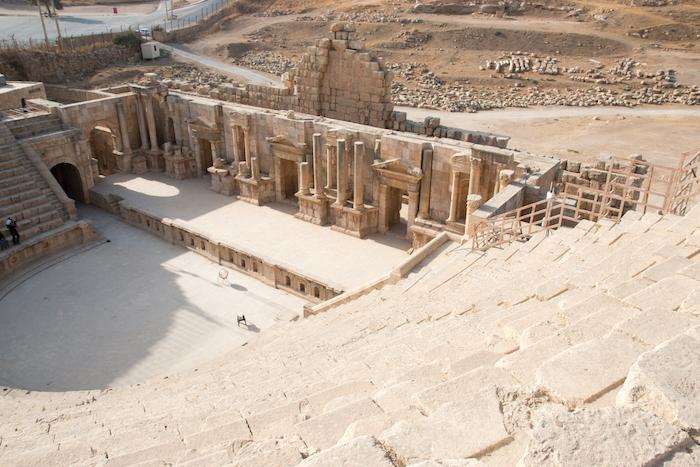 Amphitheatre Jerash Jordan