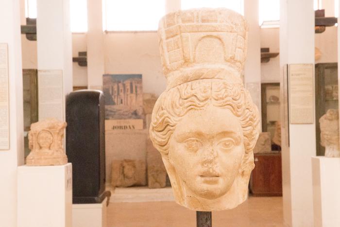 Jordan Archaeological Museum on the Amman Citadel