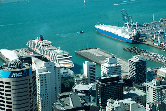 Cunard Queen Victoria in Auckland